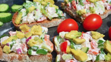 Poke Bol de crevettes hawaïennes [Recette] facile | Aliments Marina Del Rey Foods
