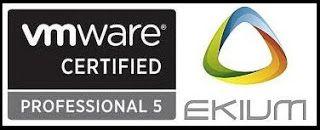 EKIUM : première société d'ingénierie en informatique industrielle à obtenir la certification VCP510 – VMware Certified Professional.