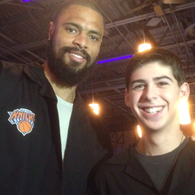 Number 6 from Manuel Dominguez High School in Compton, California, TYSON CHANDLER