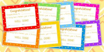 Editable End Of Year Award Certificates - awards, certificates