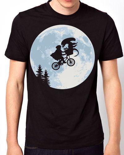 ioffer et alien funny classic movie black t shirt for sale on wanelo - T Shirt Design Ideas Pinterest