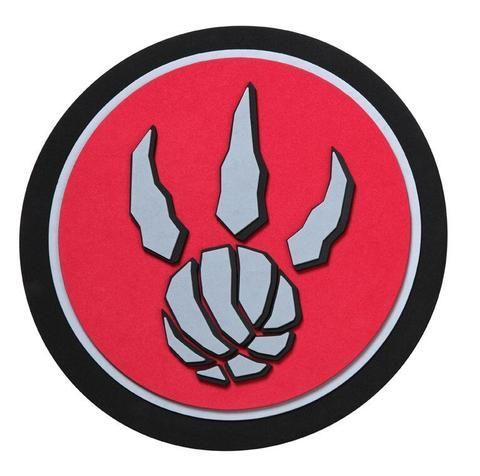 Toronto Raptors 3D Fan Foam Logo Sign