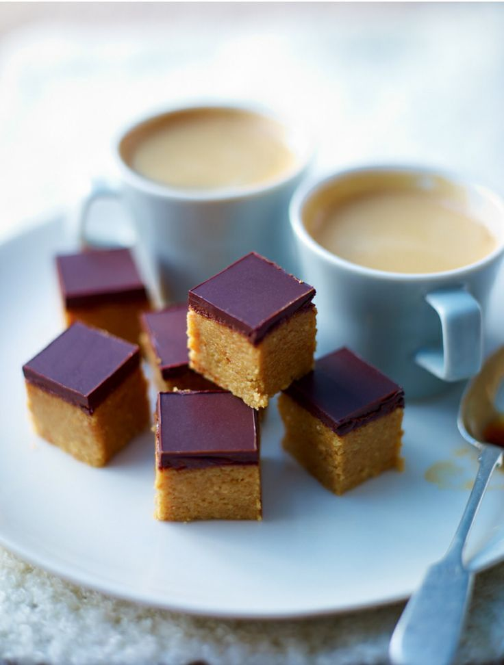 Peanut butter squares – Lorraine Pascale