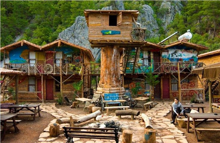 20 Cool Hostels In Europe For Every Traveler Who's On A Budget - Kadir's Tree House, Olympos, Turkey