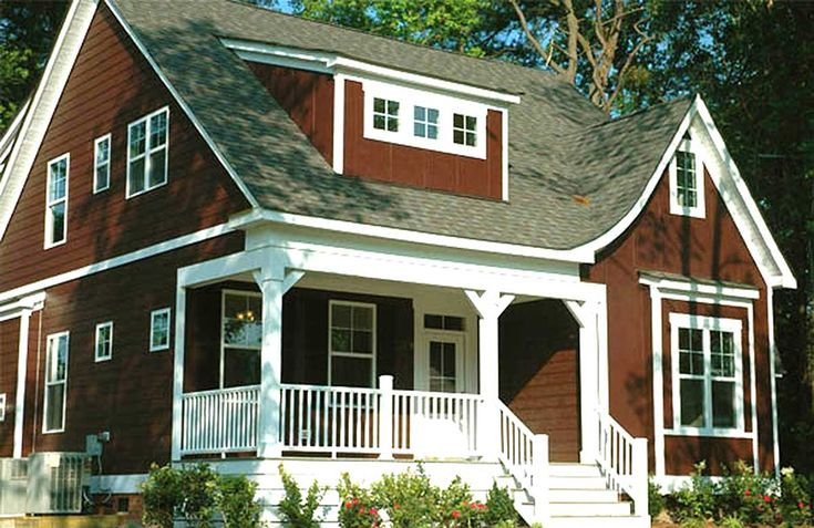Small Home Plan with 3 Seasons Porch - 30027RT | Architectural Designs - House Plans
