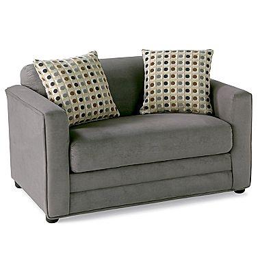 Weekender Twin Sleeper Chair - jcpenney  Wonder if a sleeper sofa and a sleeper chair can coexist in the same living room?