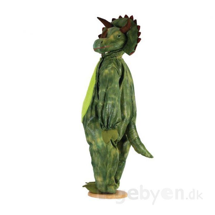 Køb Udklædning - Triceratops Dinosaur - 6-8 år. online - Udklædning og Rolleleg