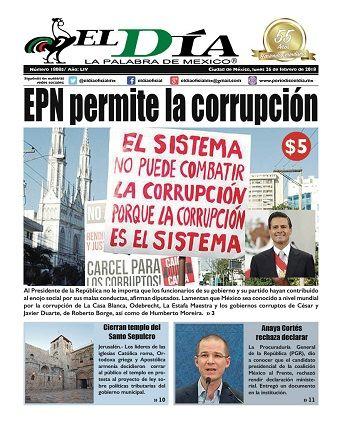 Legisladores exigen la comparecencia de Rosario Robles | Diario El Día
