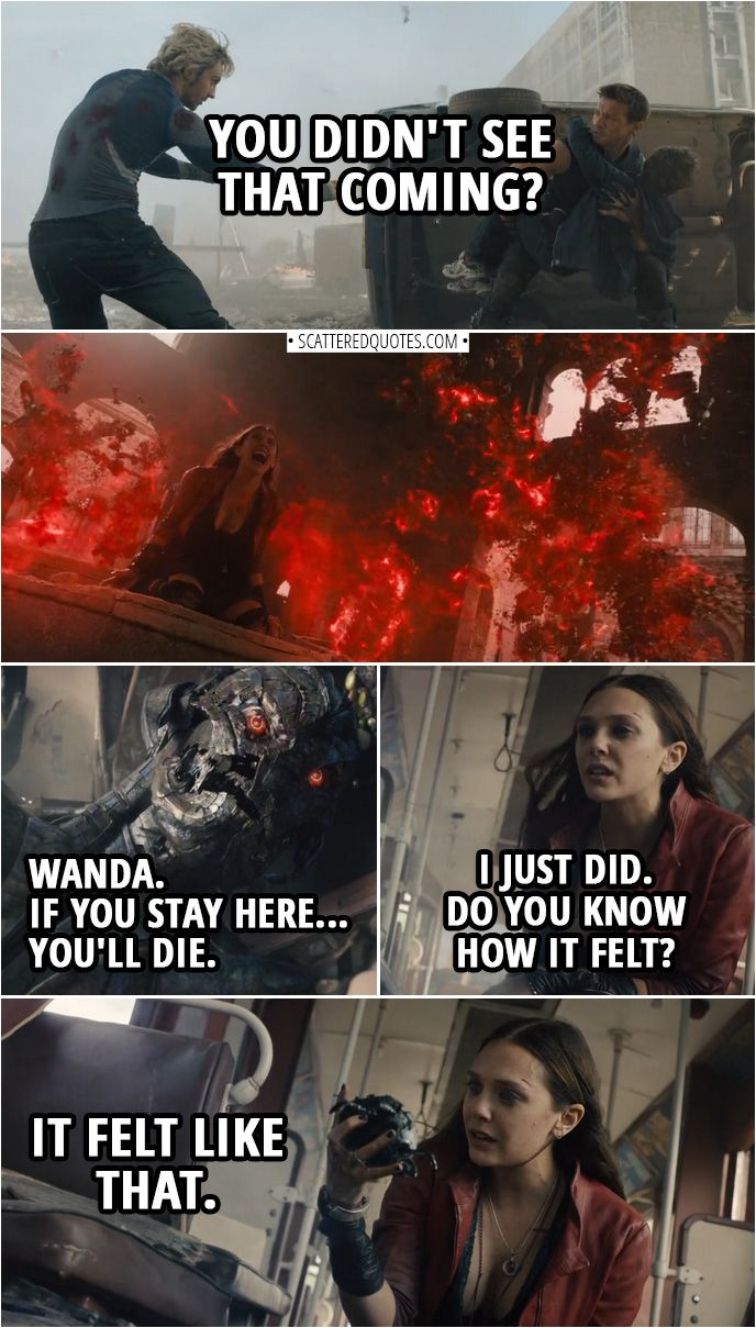 Just Do It Later 40+ Best 'avengers: Age Of Ultron (2015)' Quotes | Marvel