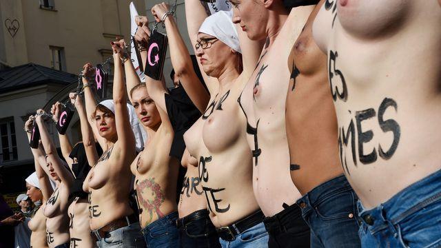 Les Femen gagnent à nouveau leur procès contre une association catholique                Les militantes du groupe féministe avaient fait ...