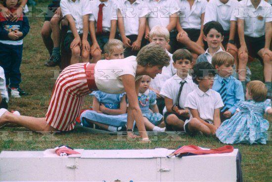 Sep 1991 Prince Harry's birthday party