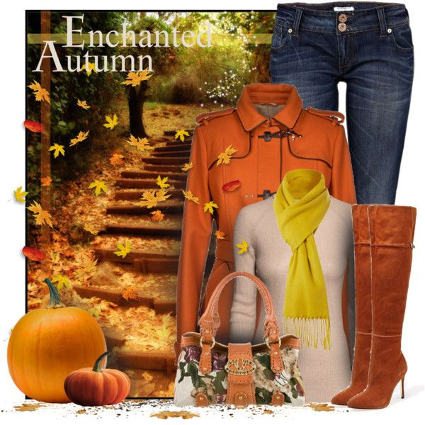 """Enchanted Autumn"" by casuality on Polyvore"