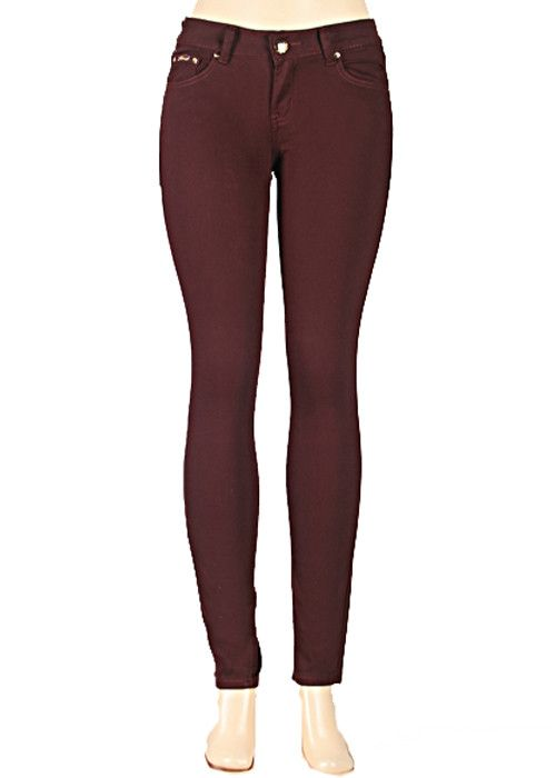 Our stretchy skinny jeans are a Fall favorite!