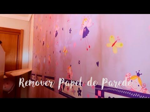 Como remover papel de parede?