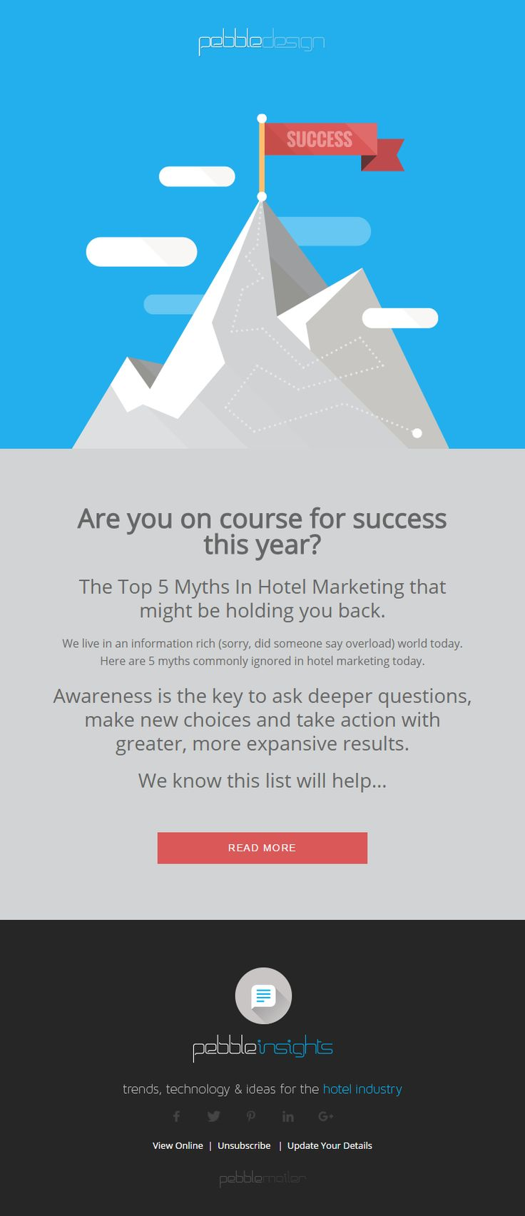 Are you on course for success this year? - Hospitality Insights #hospitalityinsights #hotelwebdesign #hotelwebsitedesign #pebbledesign #hotelwebsites