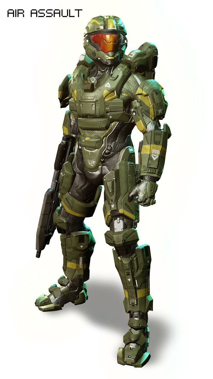 HALO 4 air assault Armor (this is what I'm wearing)