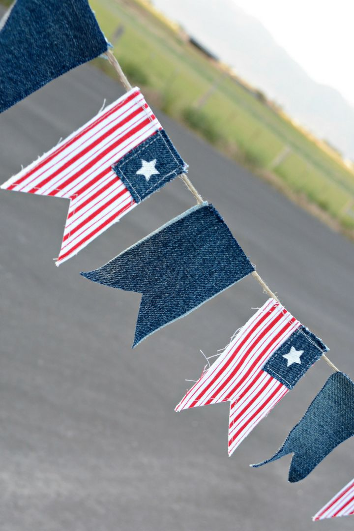 Charming and Easy To Make Star Spangled Banner