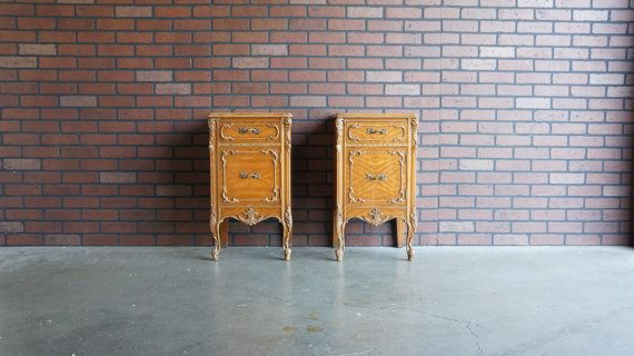 Nightstands / French Provincial Nightstands / Bedside Chest / Country French Nightstands ~ Paint To Order ~