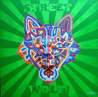 Art   wolf   PPC et Collaboration air Toile  Street l     artiste sur price shoes Art Wolves    cm X avec rate      Alternative    pl  tre      Street  Pioc    cm Acrylique  amp  toile