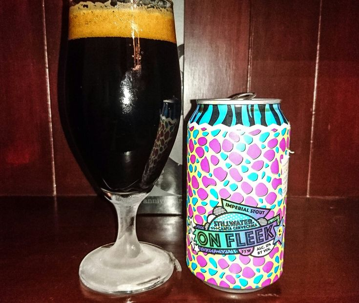 """On Fleek Imperial Stout, 13%. Stillwater Artisinal Brewery, Stratford Connecticut, USA. This is one of the last cans of this beer in Australia. I was saving it for a special occasion. Well, the """"special occasion"""" is that I've run out of beer... 😀.  I'm going on a cruise tomorrow - a 3-day booze-up on the Explorer of the Seas, cruising out of Sydney. Then, we're staying at Bondi Beach,  where I'll booze up some more. I was overseas 3 times last year (my girl 5 times) so we want a short trip…"""