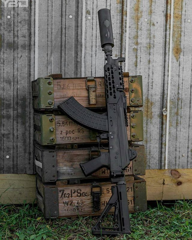 AK SBR KREBS Custom Loading that magazine is a pain! Get your Magazine speedloader today! http://www.amazon.com/shops/raeind