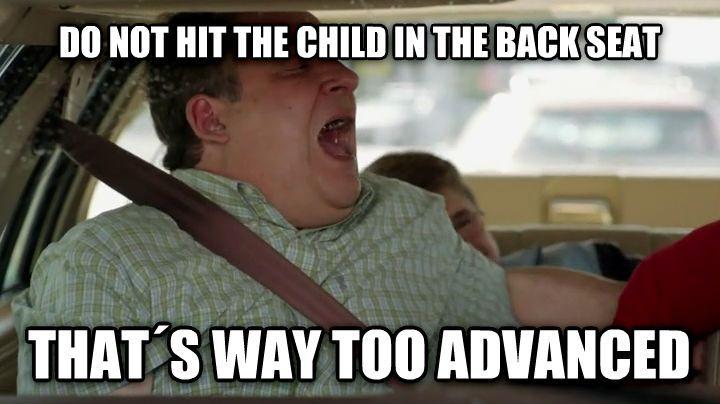 Murray Goldberg teaching his kid how to drive