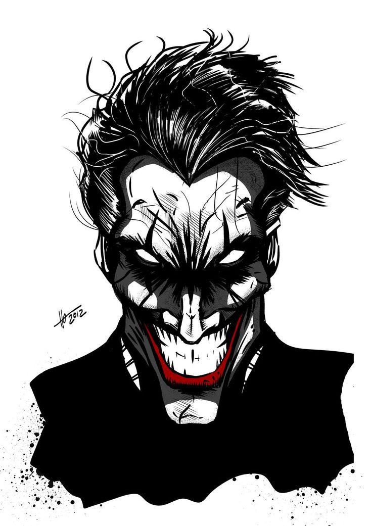 https://s-media-cache-ak0.pinimg.com/736x/65/bb/b0/65bbb0c0eb4919379ff4d72da9bd8b98--joker-batman-comic-art.jpg Comic Joker Painting