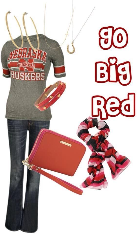 Nebraska Huskers!  Football season!  Cheer on your favorite team