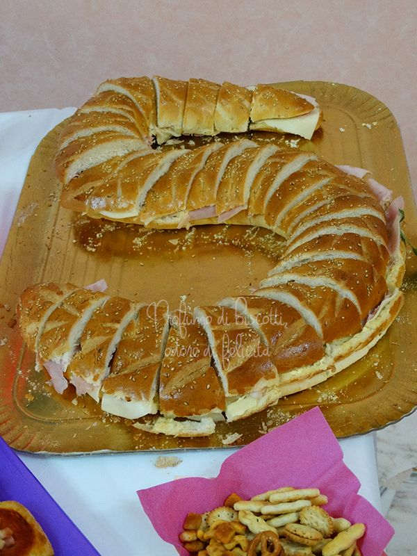 buffet da compleanno - panino grande personalizzato