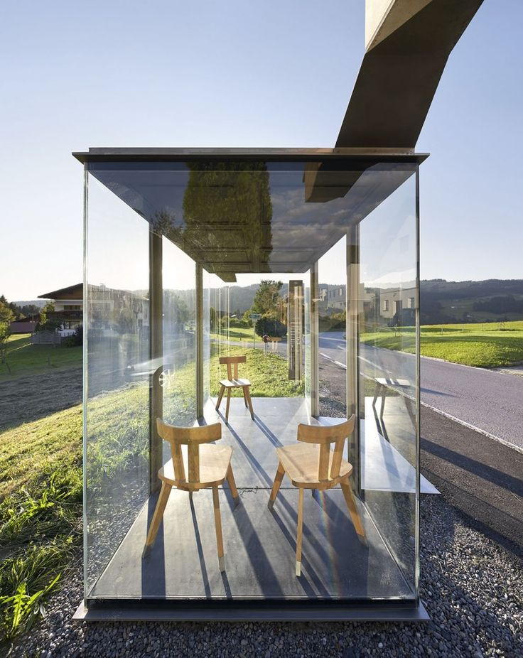 New Images Released of Krumbach, Austria's Famous Bus Stops