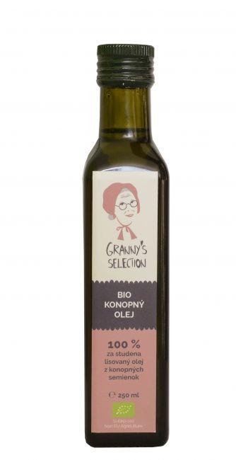 100% za studena lisovaný olej z konopných semienok z kontrolovaného organického zberu je výborným zdrojom esenciálnych mastných kyselín: Omega 3 a Omega 6 vo výnimočnom pomere pre ľudský organizmus. Ďalšou dôležitou zložkou je Alfa-linolénová kyselina ktorá napomáha kontrolovať cholesterol.  Odporúčané použitie: denné dávkovanie 2 polievkové lyžice. Neodporúča sa zohrievať nad hranicu 180 C. Použitie v studenej kuchyni, na šaláty, výroba dressingov a pod.