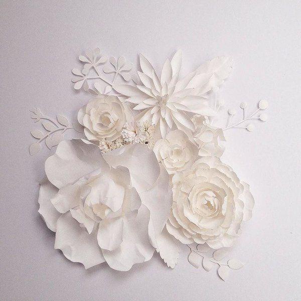 Paper art by Ceres Lau