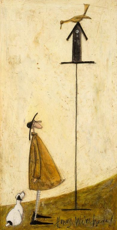 Pictures of the Sam Toft exhibition at the Panter & Hall Gallery