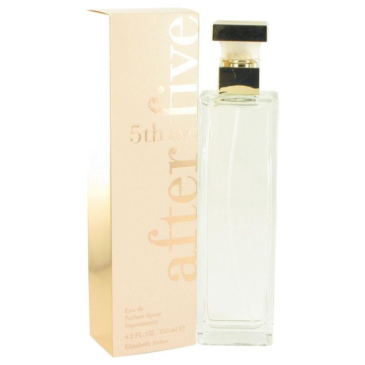 New #Fragrance #Perfume #Scent on #Sale  5TH AVENUE After Five by Elizabeth Arden 4.2 oz EDP Spray - Created by Elizabeth Arden in 1996, this perfume is a refreshing  flowery fragrance. This extraordinary scent possesses a mixture of magnolia, lilac, mandarin, peach, nutmeg, sandalwood and vanilla.. Buy now at http://www.yourhotperfume.com/5th-avenue-after-five-by-elizabeth-arden-eau-de-parfum-spray-4-2-oz-for-women.html