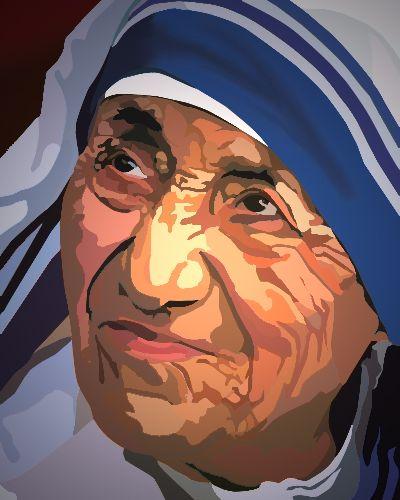 My Art Work... Mother Teresa