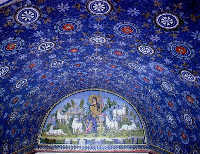 Galla Placidia Mausoleum, Ravenna, Italy to read more about these wonderful mosaics in Ravenna and also to learn more about mosaic art, click here: http://therunawayitalian.com/2015/05/the-ancient-art-of-mosaic-in-ravenna-italy/