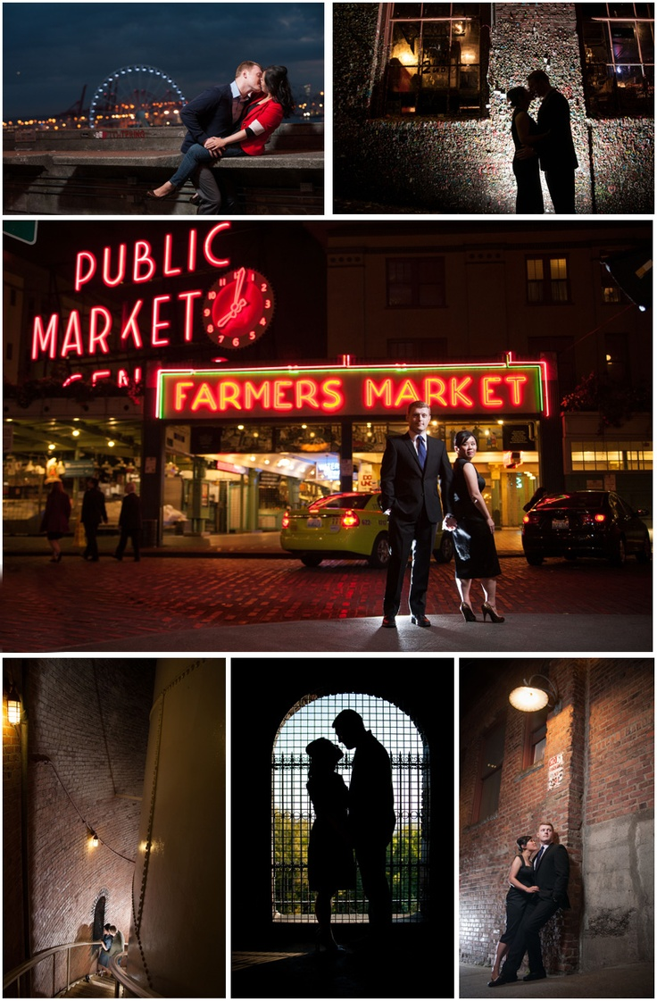 #Seattle #engagement #shoot