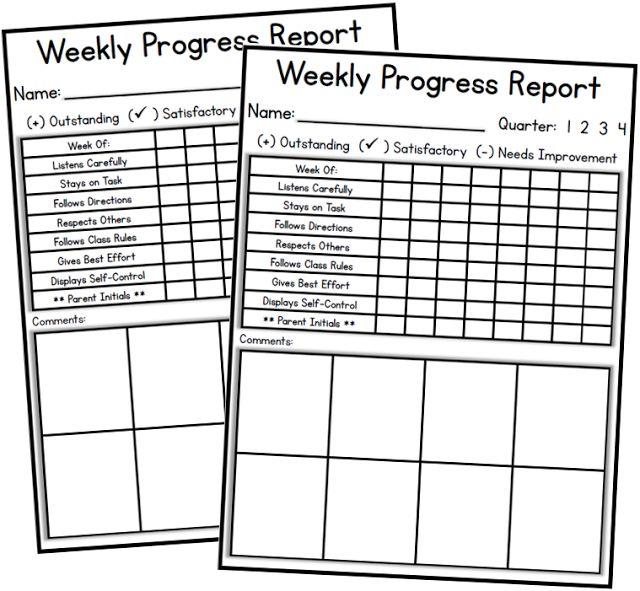 Best  Progress Report Ideas On   Progress Report