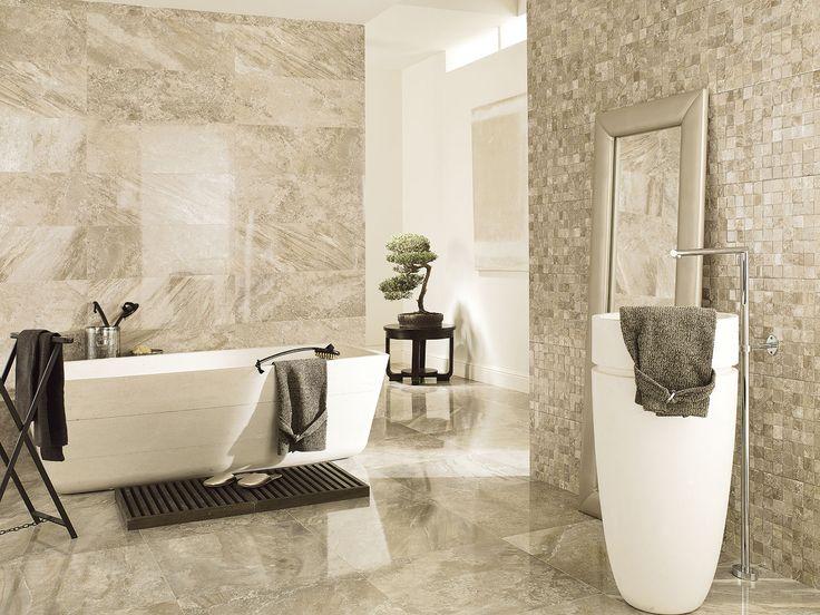 Porcelanosa s stylish tiles for bathroom   Floor Tiles  Recife Gris52 best Bathroom Inspirational ideas images on Pinterest   Room  . Modern Bathroom Floor Tile. Home Design Ideas