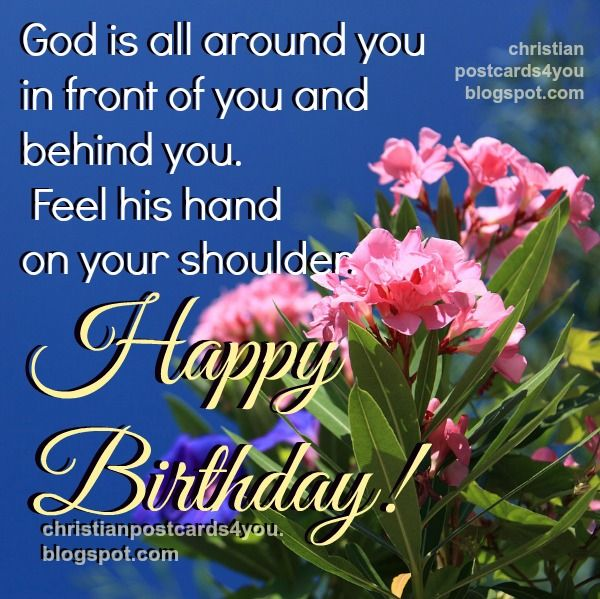 religious+birthday+cards+free | Free christian birthday card image with bible verses, Psalm 139, free ...