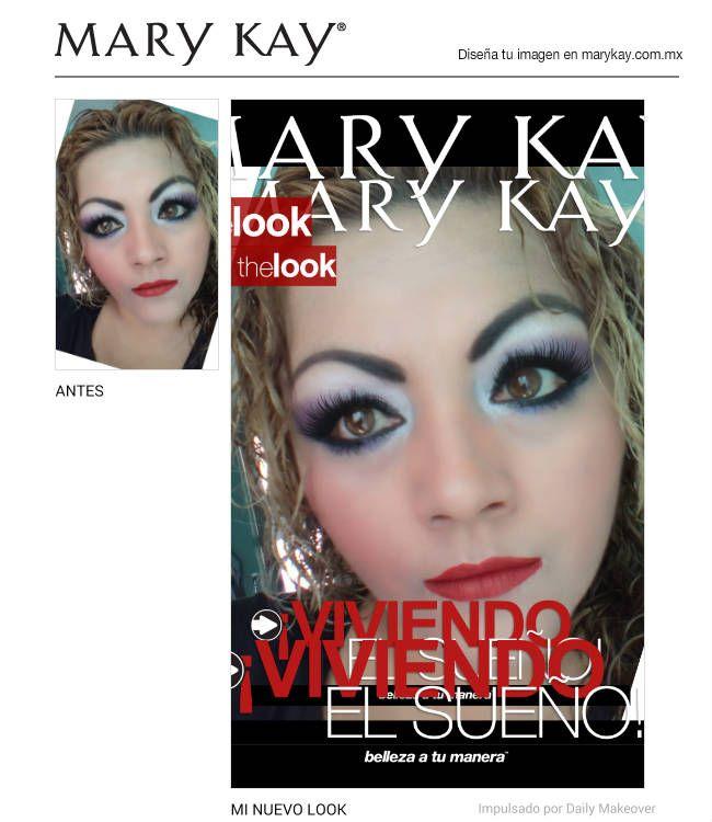 Acabo de crear un maravilloso cambio de imagen usando GRATIS la aplicación Diseña tu Imagen Móvil de Mary Kay. ¡Pruébalo y compártelo con todos tus amigos!