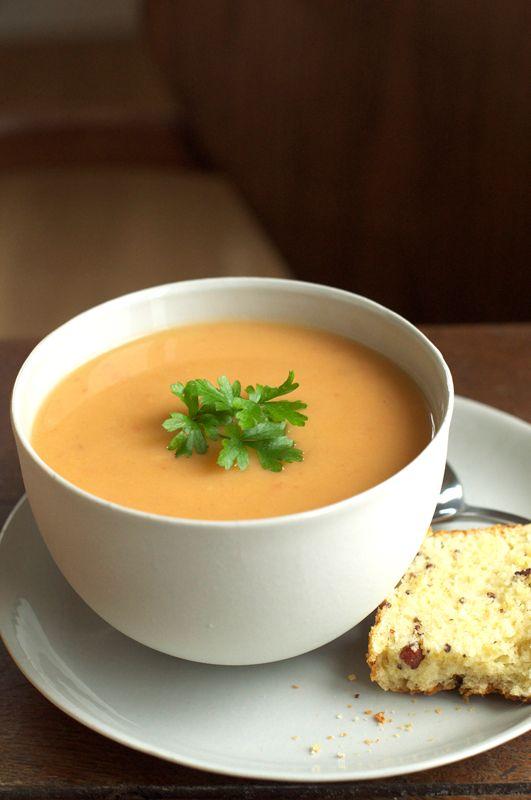 Cream of Tomato & Potato Soup | Soups | Pinterest