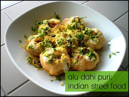 Home is where the Chaat is: Alu Dahi Puri