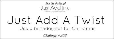 "Just Add Ink: Just Add Ink #368...""Just Add a Twist"""