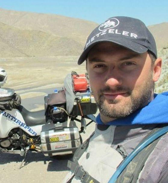 Ha girato il mondo in moto in 8 anni, sarà protagonista nel prossimo weekend
