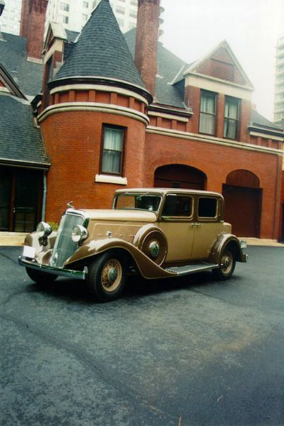 1934 Vintage Rolls Royce Franklin Model