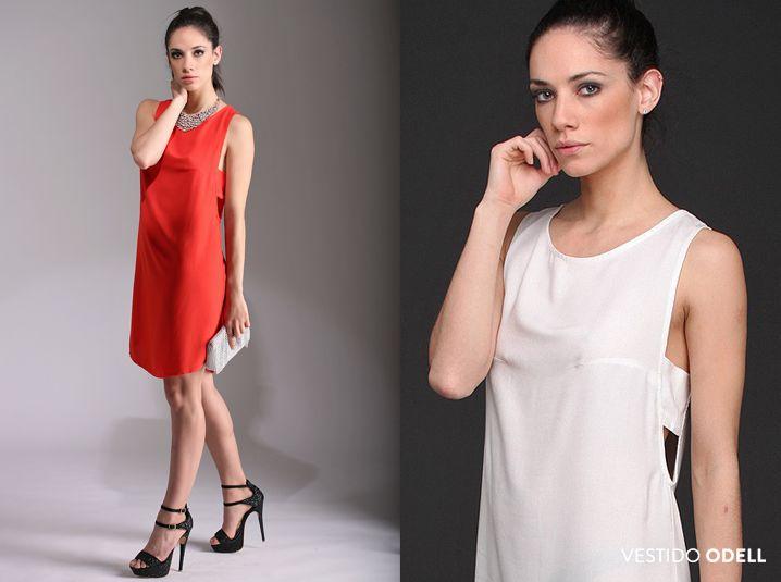 El vestido Odell, de creppe, tiene un detalle de aberturas en laterales que le aportan un aire de sensualidad y distinción. #LíneaNoche #EdiciónLimitada