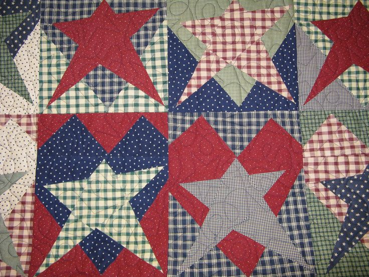 DONNA'S - In The Attic: ~ BUGGY BARN QUILT - Star in a Heart ~