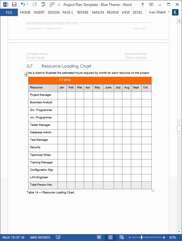 Project Plan Template Word Best Of Project Plan Template Download Ms Word Excel Forms Project Proposal Template Proposal Templates Templates