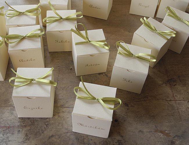 Wedding Gift Boxes, Sitting Card